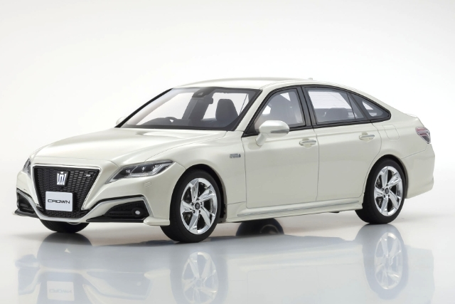 Kyosho 1/18 Toyota Crown 3.5 RS Advance (White) 限定700台