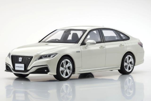 Kyosho 1/18 Toyota Crown 3.5 RS Advance (White) 限定700台