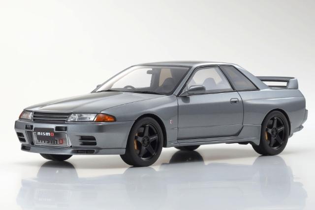 [Kyosho] 1/18 日産 スカイライン GT-R (R32) ニスモ グランドツーリングカー (グレー) 限定 700個