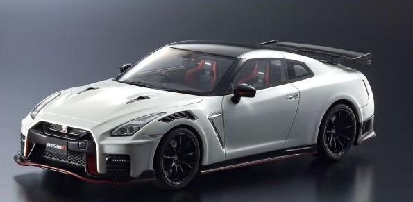 Kyosho 1/18 日産 GT-R ニスモ 2020 (ホワイト) 限定 750個 ※samuraiシリーズ