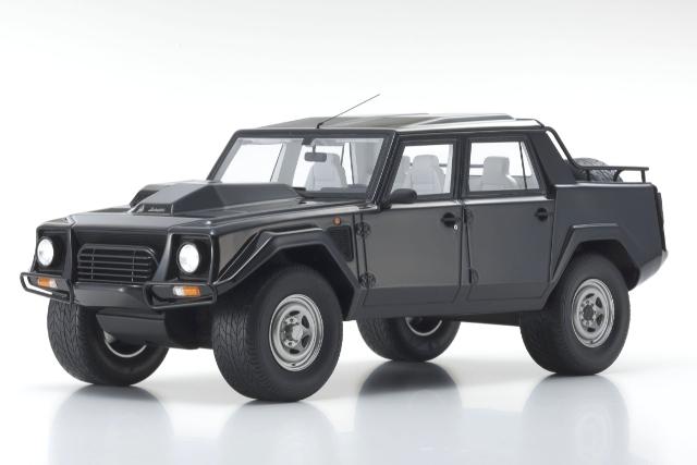 <セール 12月21日まで> Kyosho 1/18 Lamborghini LM002 (Black)