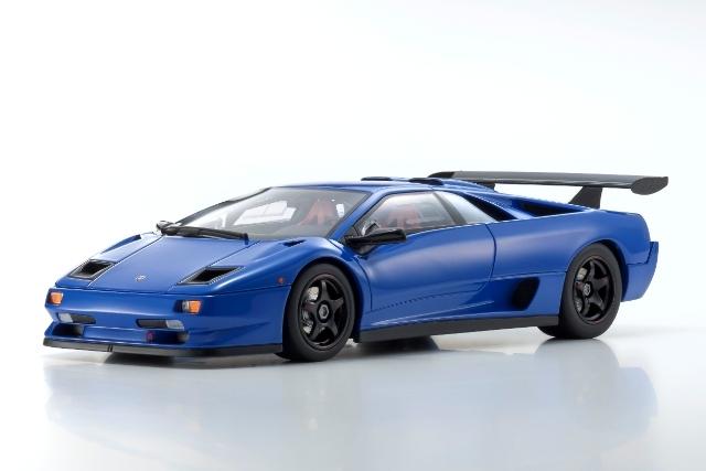 <セール 12月21日まで> Kyosho 1/18 Lamborghini Diablo SVR (blue)