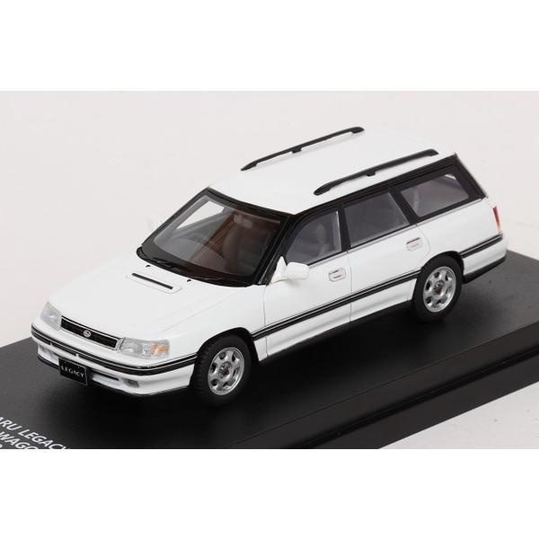 【LA-X】 1/43 スバル レガシィ ツーリングワゴン GT 1989 (セラミックホワイト)