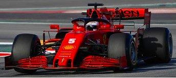 <予約> [LOOKSMART] 1/18 Scuderia Ferrari SF1000 No.5 Scuderia Ferrari Barcelona Test 2020 Sebastian Vettel