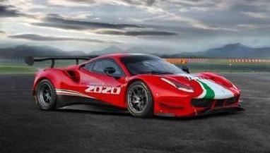 <予約 2021/8月発売予定> LOOKSMART 1/18 Ferrari 488 EVO 2020