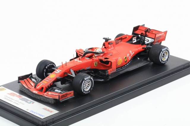 [LOOKSMART] 1/43 Ferrari SF90 No.5 2nd Canadian GP 2019 Sebastian Vettel