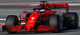<予約> [LOOKSMART] 1/43 Scuderia Ferrari SF1000 No.5 Scuderia Ferrari Barcelona Test 2020 Sebastian Vettel