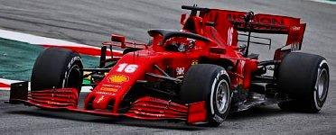 <予約> [LOOKSMART] 1/43 Scuderia Ferrari SF1000 No.16 Scuderia Ferrari Barcelona Test 2020 Charles Leclerc