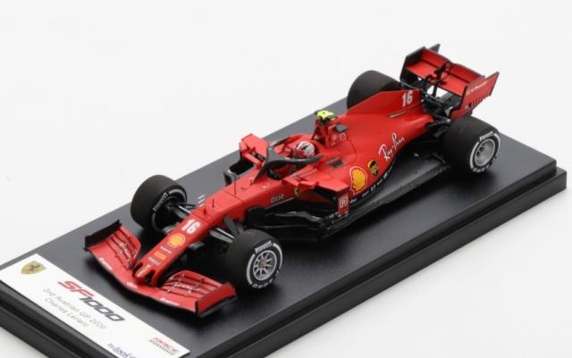 Looksmart 1/43 Scuderia Ferrari SF1000 No.16 Scuderia Ferrari 2nd Austrian GP 2020Charles Leclerc