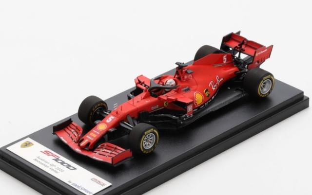 Looksmart 1/43 Scuderia Ferrari SF1000 No.5 Scuderia Ferrari Austrian GP 2020Sebastian Vettel
