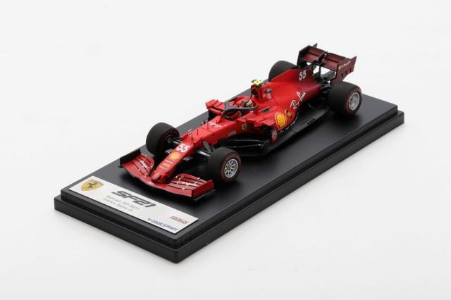 Looksmart 1/43 Scuderia Ferrari SF21 No.55 Bahrain GP 2021 Carlos Sainz Jr.