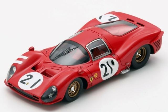 Looksmart 1/43 Ferrari 330 P3 No.21 24H Le Mans 1966 L. Bandini - J. Guichet