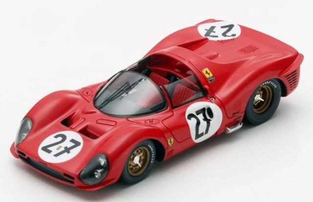 Looksmart 1/43 Ferrari 330 P3 No.27 24H Le Mans 1966 R. Ginther - P. Rodr?guez