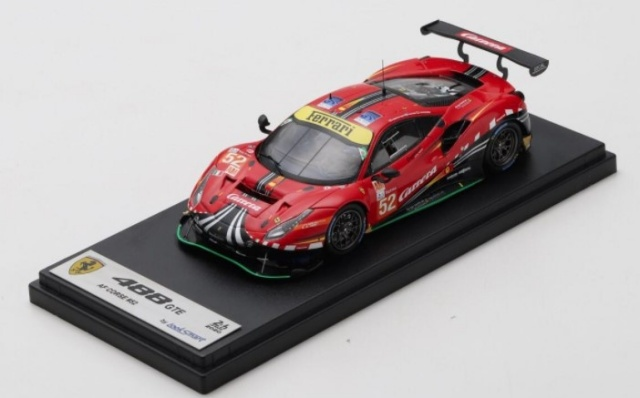 Spark 1/43 Ferrari 488 GTE EVO No.52 AF Corse 24H Le Mans 2020