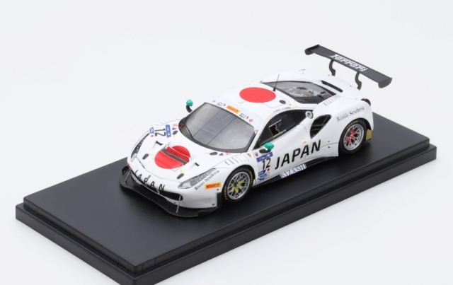 Looksmart 1/43 Ferrari 488 GT3 FIA GT Nations Cup Japan Team-Bahrain 2018