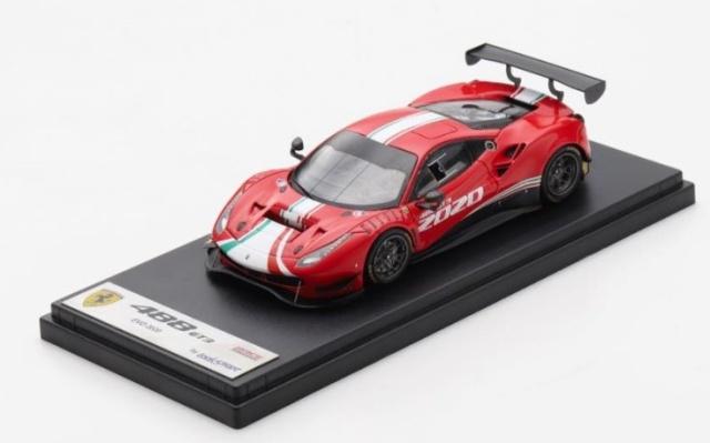 <予約 2021/8月発売予定> LOOKSMART 1/43 Ferrari 488 EVO 2020