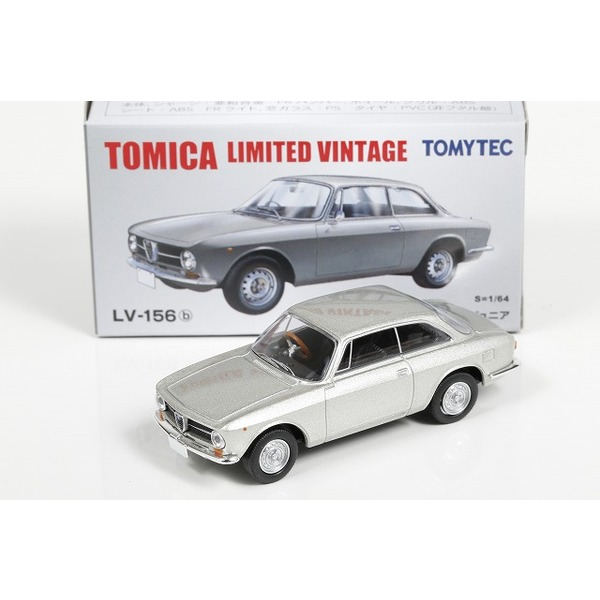 【トミカリミテッドヴィンテージ】 1/64 アルファロメオ GT 1600 ジュニア (シルバー)