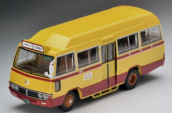 TOMICA LIMITED VINTAGE 1/64 トヨタ コースター(都営ミニバス)