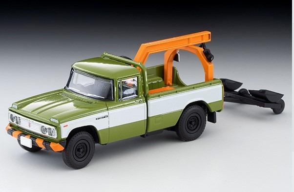 トミカリミテッドヴィンテージ 1/64 トヨタ スタウト レッカー車(緑)