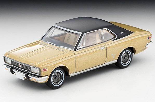 TOMICA LIMITED VINTAGE 1/64 トヨペット クラウンハードトップ スーパーデラックス 70年式(金/黒)