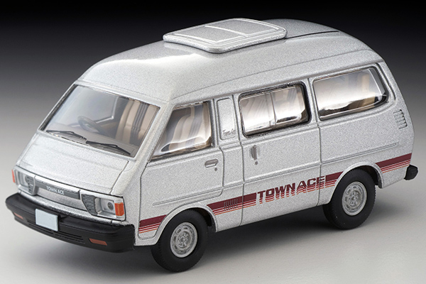 TOMICA LIMITED VINATGE NEO 1/64 トヨタ タウンエース ワゴン 1800 グランドエクストラ 81年式 (銀)