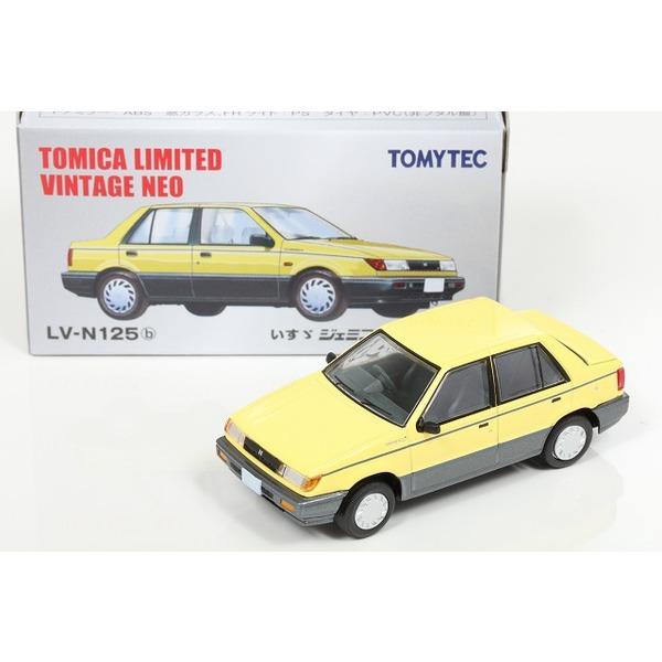 【トミカリミテッドヴィンテージNEO】 1/64 いすゞ ジェミニ パティオ 1987 イエロー
