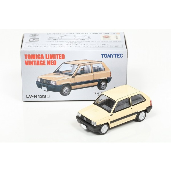 【TOMICA LIMITED VINTAGE NEO】 1/64 フィアット パンダ(ベージュ)