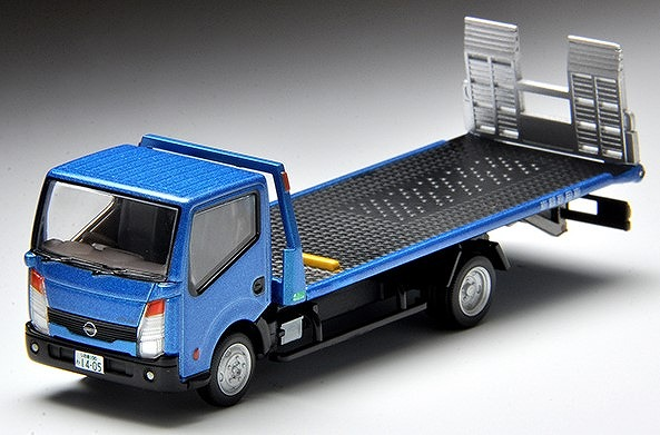 TOMICA LIMITED VINTAGE NEO 1/64 日産アトラスF24花見台自動車セフテーローダ(青)