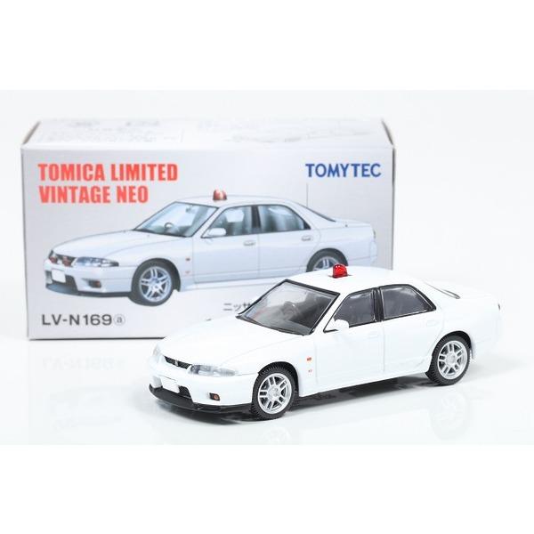 【トミカリミテッドヴィンテージNEO】 1/64 日産スカイライン GT-R オーテックバージョン 覆面パトカー 白