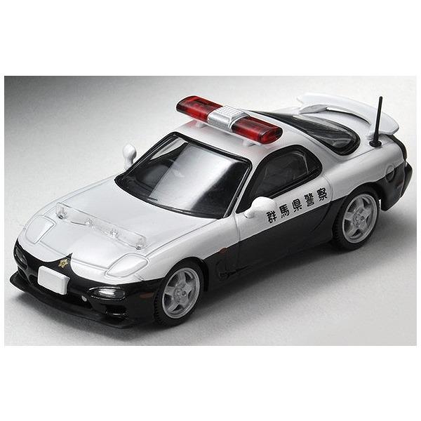 【TOMICA LIMITED VINTAGE NEO】 1/64 マツダRX-7 パトロールカー 群馬県警察