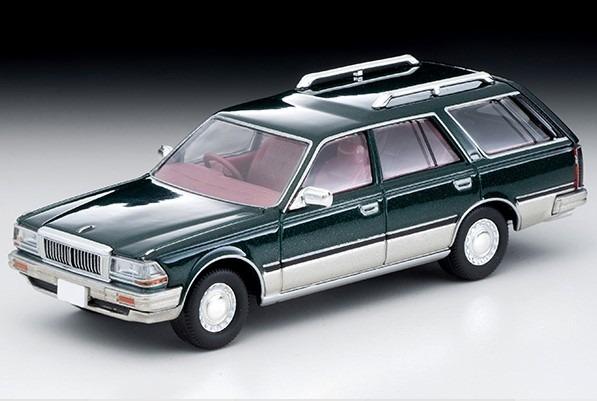 トミカリミテッドヴィンテージNEO 1/64 日産セドリックワゴン V20E SGL リミテッド(緑/銀)