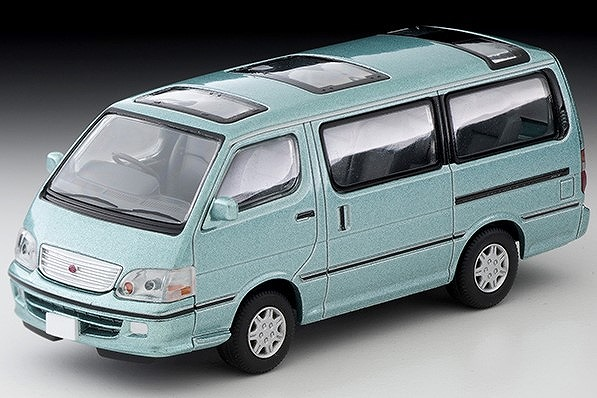 TOMICA LIMITED VINTAGE NEO 1/64 トヨタ ハイエースワゴン スーパーカスタムG 2002年式(薄緑)