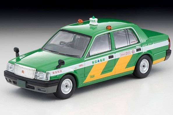 <予約> TOMICA LIMITED VINTAGE NEO 1/64  トヨタ クラウン コンフォート 東京無線タクシー 緑