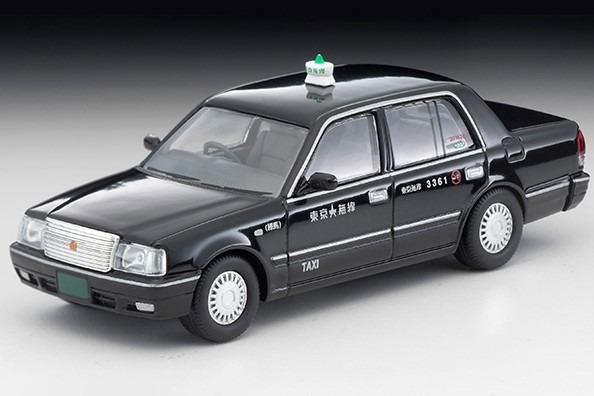 TOMICA LIMITED VINTAGE NEO 1/64 トヨタ クラウンセダン 東京無線タクシー(黒)