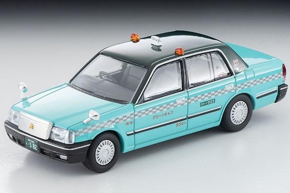 TOMICA LIMITED VINTAGE NEO 1/64 トヨタ クラウンセダン タクシー(グリーンキャブ)