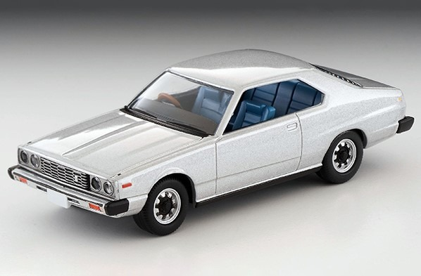 トミカリミテッドヴィンテージNEO 1/64 日産スカイライン ハードトップ2000GT-EX(銀)77年式