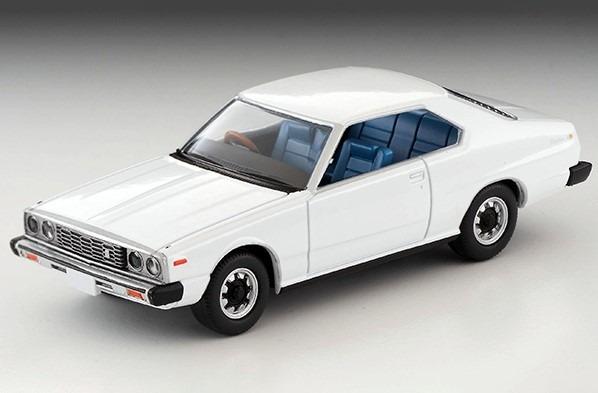 トミカリミテッドヴィンテージNEO 1/64 日産スカイライン ハードトップ2000GT-EX(白)77年式