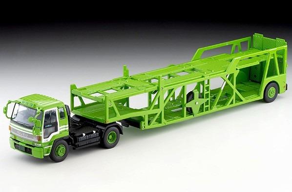 トミカリミテッドヴィンテージNEO 1/64 いすゞ810EX カートランスポーター(アンチコASZ022車両運搬トレーラ)