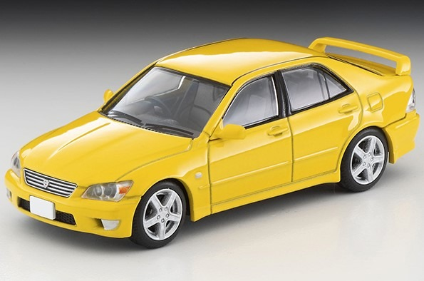 TOMICA LIMITED VINTAGE NEO 1/64 トヨタ アルテッツァ RS200 Zエディション(黄)