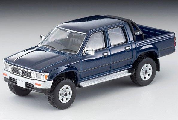 <予約 2021/2月発売予定> TOMICA LIMITED VINTAGE NEO 1/64 トヨタ ハイラックス 4WD ピックアップ ダブルキャブSSR(紺)95年式