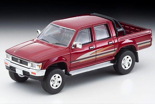 <予約 2021/2月発売予定> TOMICA LIMITED VINTAGE NEO 1/64 トヨタ ハイラックス 4WD ピックアップ ダブルキャブSSR(赤)91年式