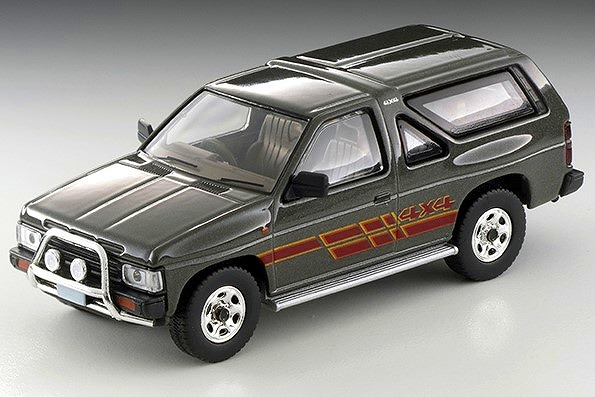 TOMICA LIMITED VINTAGE NEO 1/64 日産 テラノ R3M(灰)