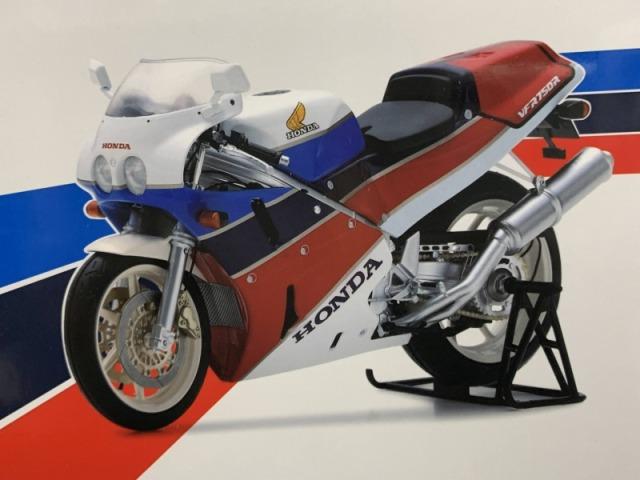 Spark 1/12 Honda VFR750R 1989