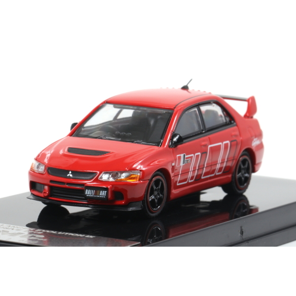 【MC64】 1/64 2005 Mitsubishi LANCER EVOLUTION IX (Red/RALLIART) [Singapore2019特注] *限定600台