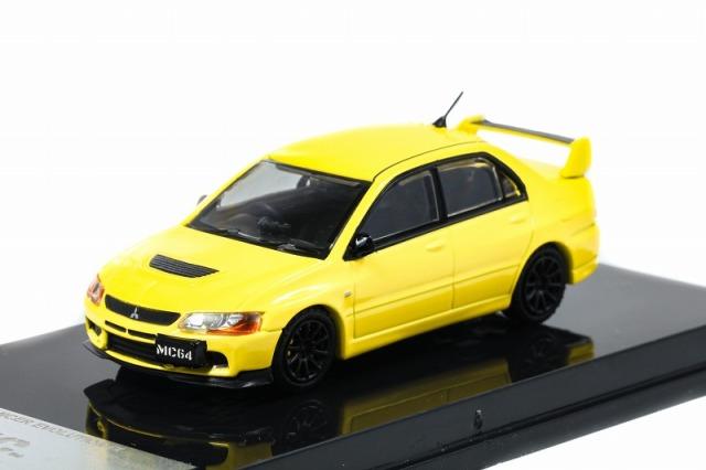 MC64 1/64 Mitsubishi Lancer Evolution IX Yellow 限定600台
