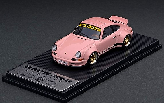 MODELCOLLECT 1/64 RWB 930 Ducktail Wing Pink