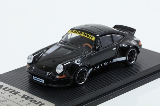 MODEL COLLECT 1/64 RWB Ducktail Wing Metallic Black