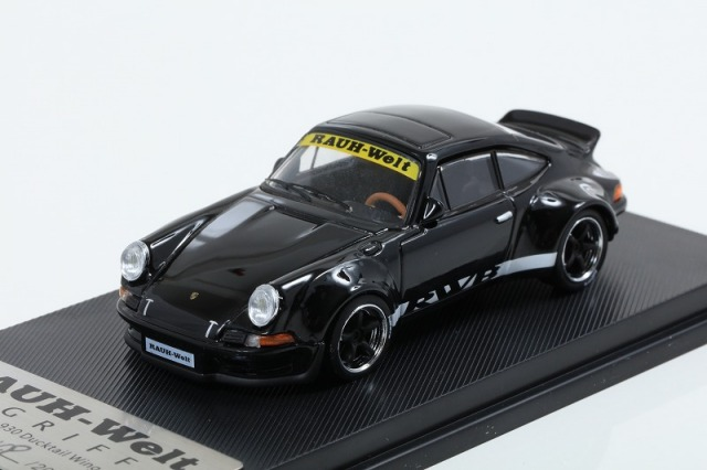 MODEL COLLECT 1/64 RWB Ducktail Wing Metallic Black