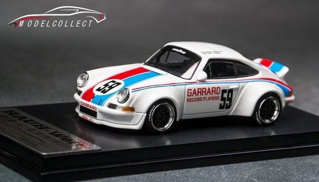 MODEL COLLECT 1/64 RWB 930 Ducktail Wing  White #59
