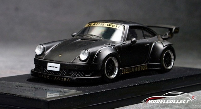 MODEL COLLECT 1/64 RWB 930 Black (Wheel:Black)